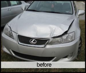 collision repair lexus chester springs exton