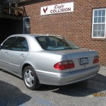 Mercedes Collision Repair Exton Pa
